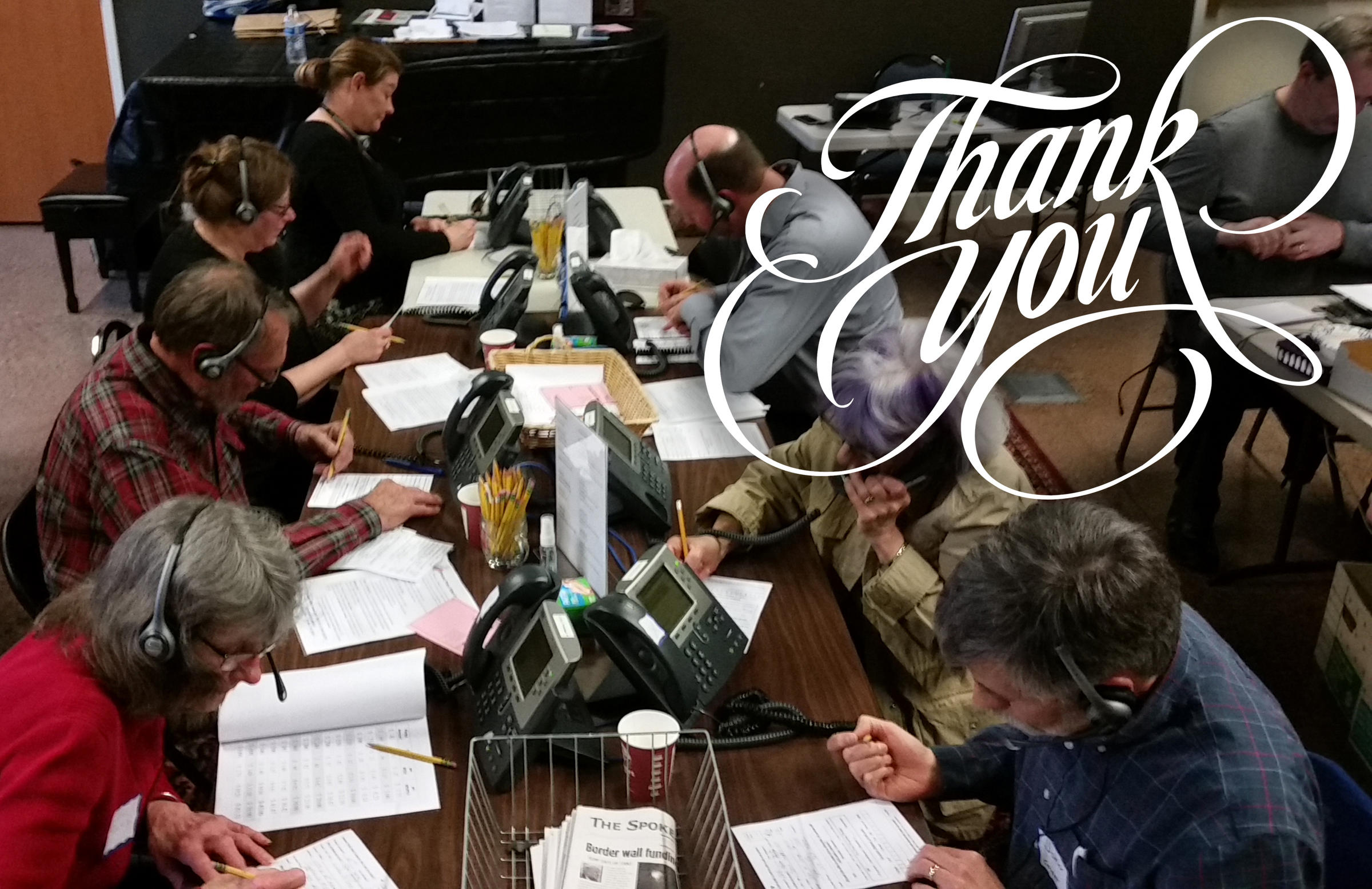 Thank You For Adding a 'Power Hour' to Spring Pledge Drive