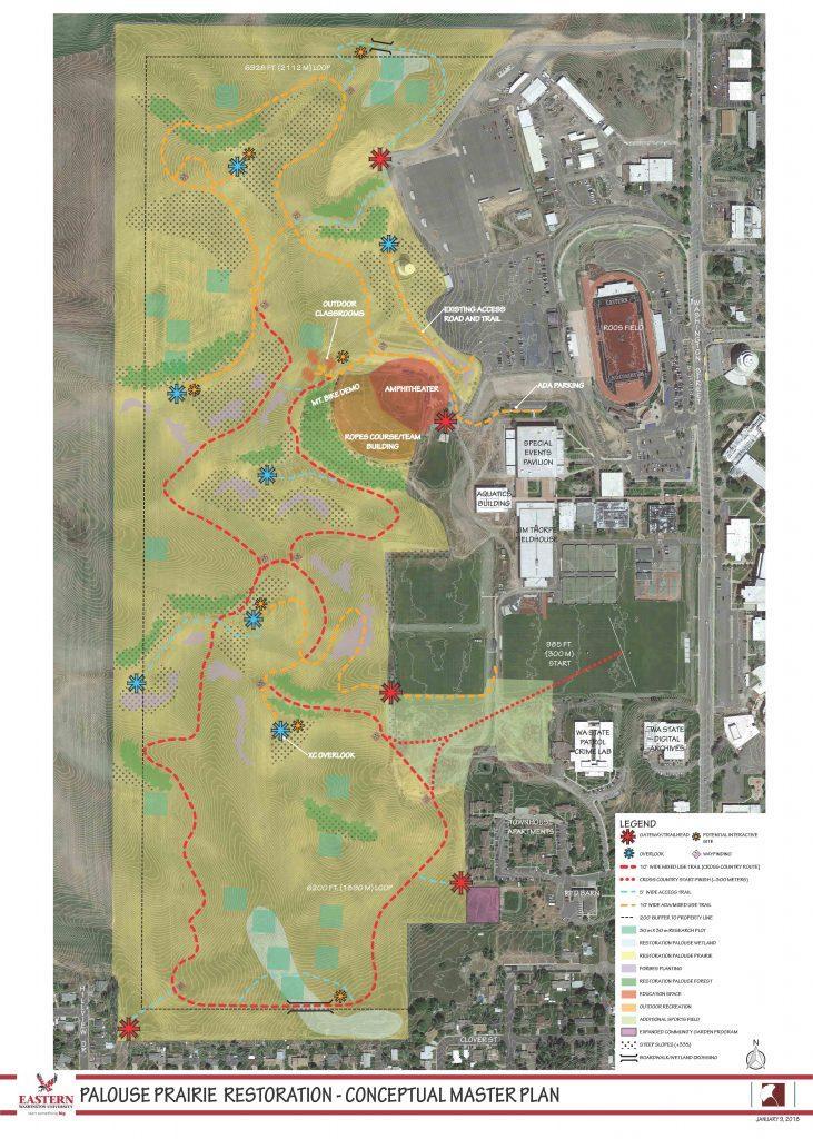 Ewu Project To Restore 120 Acres Of Farmland To Prairie Spokane