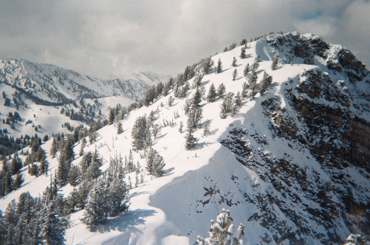 Utah avalanche center photo, US Forest Service