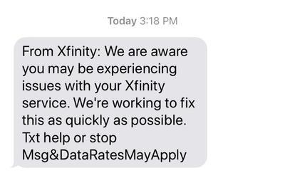 Update Comcast Estimates Service In Park City Area 100 Restored By 8 P M Kpcw