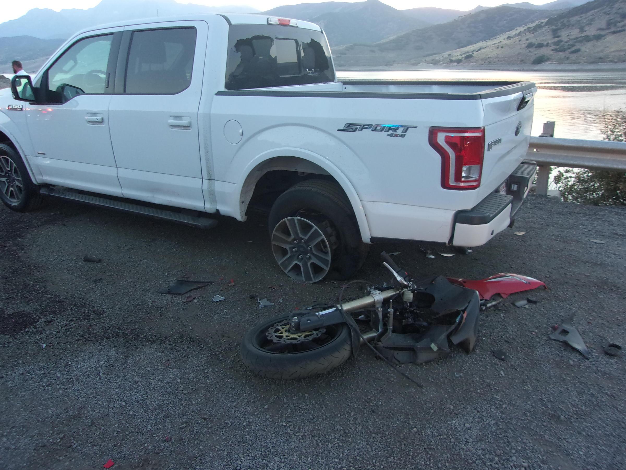 Motorcycle Crash Near Deer Creek | KPCW