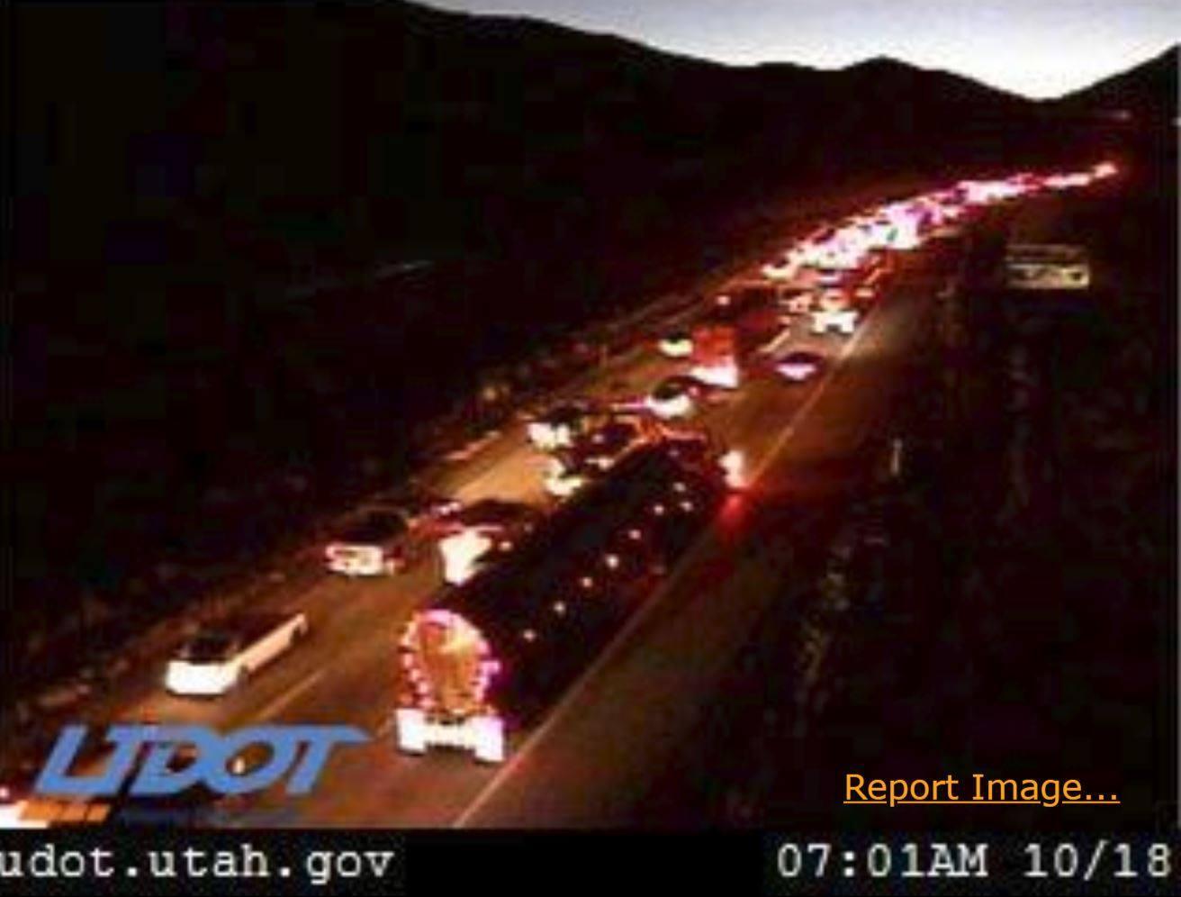 Accident On I-80 Delays Traffic Thursday Morning | KPCW