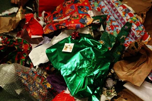 Most Glittery Or Metallic Wring Paper Can T Be Recycled