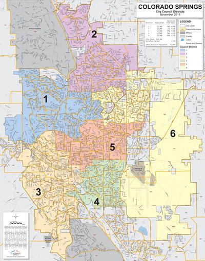City Of Colorado Springs >> 40th Biggest City Colorado Springs Council District 5