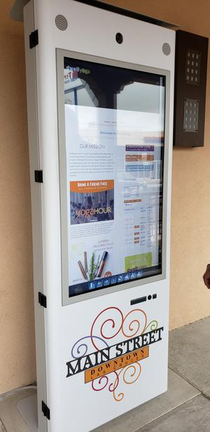 Interactive Kiosks Installed In Downtown Las Cruces | KRWG