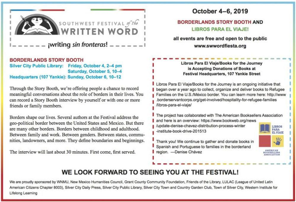 Writing Sin Fronteras Without Borders Biennial Festival In