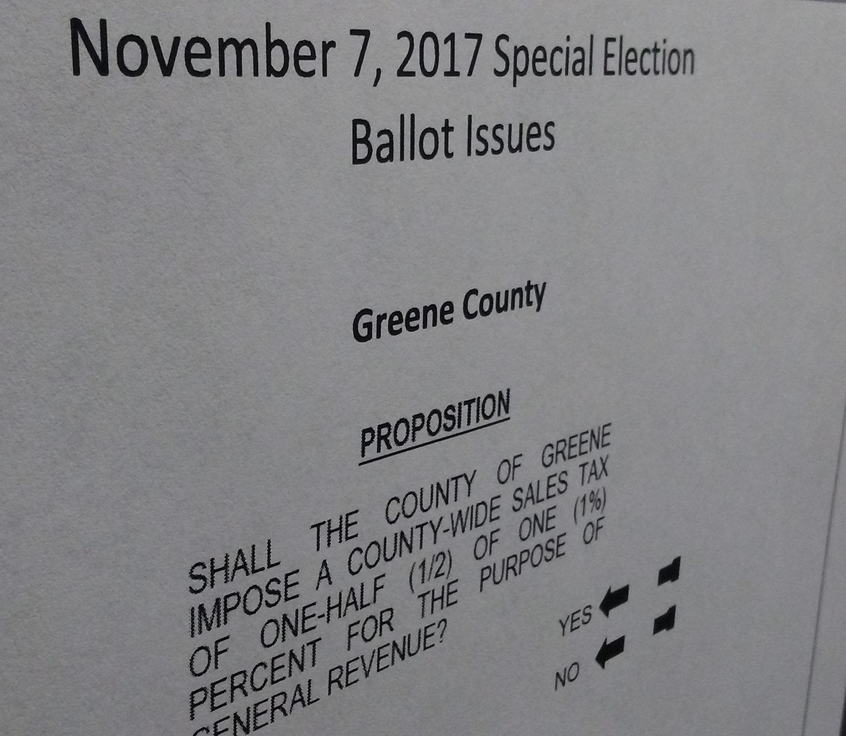 Election: springfield, greene county voters head to the polls tuesday.