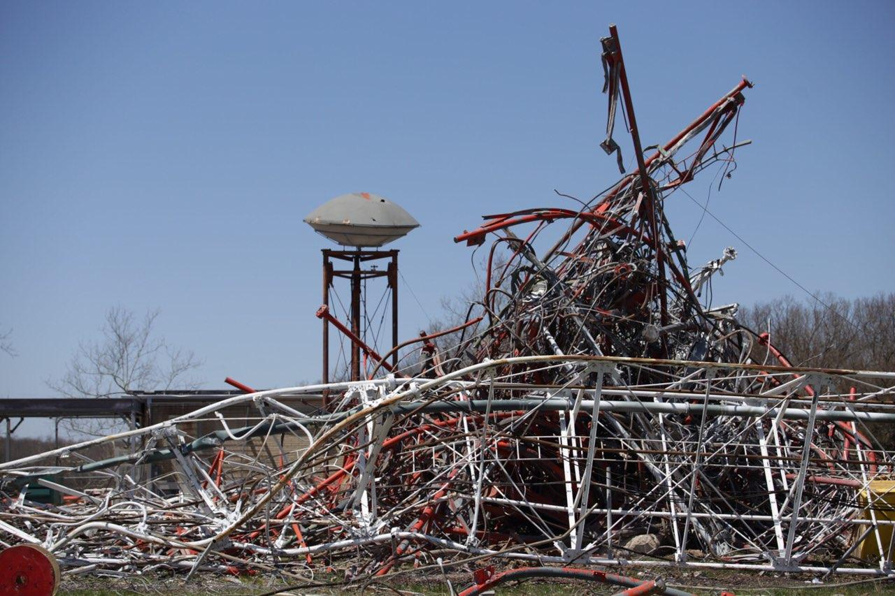 One Dead, Several Injured as TV Tower Collapses in Fordland