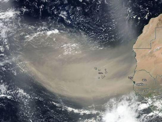 2nd Saharan Dust PLume