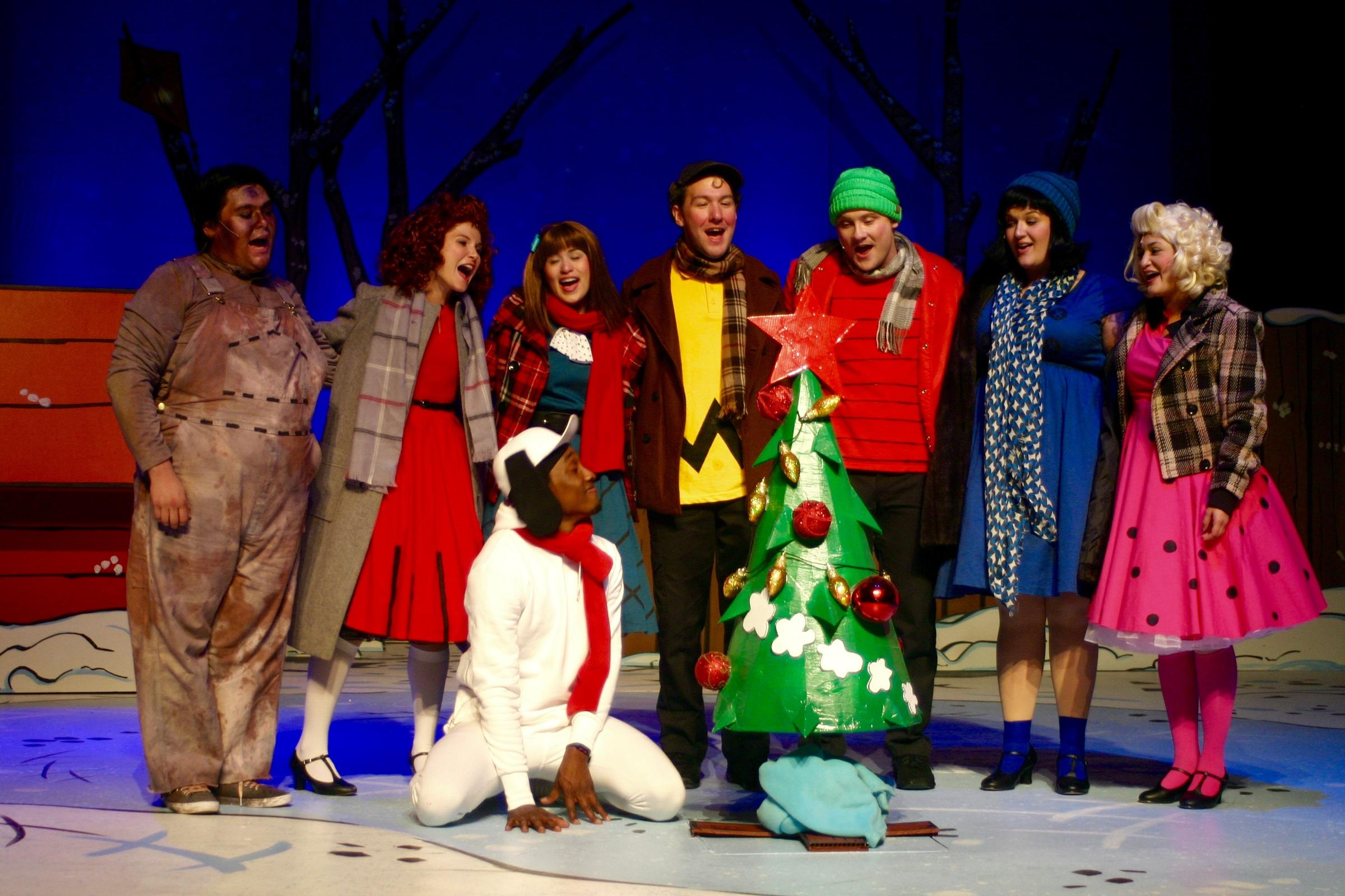 A Charlie Brown Christmas Play.Autism Accomodated With Sensory Friendly Productions Texas
