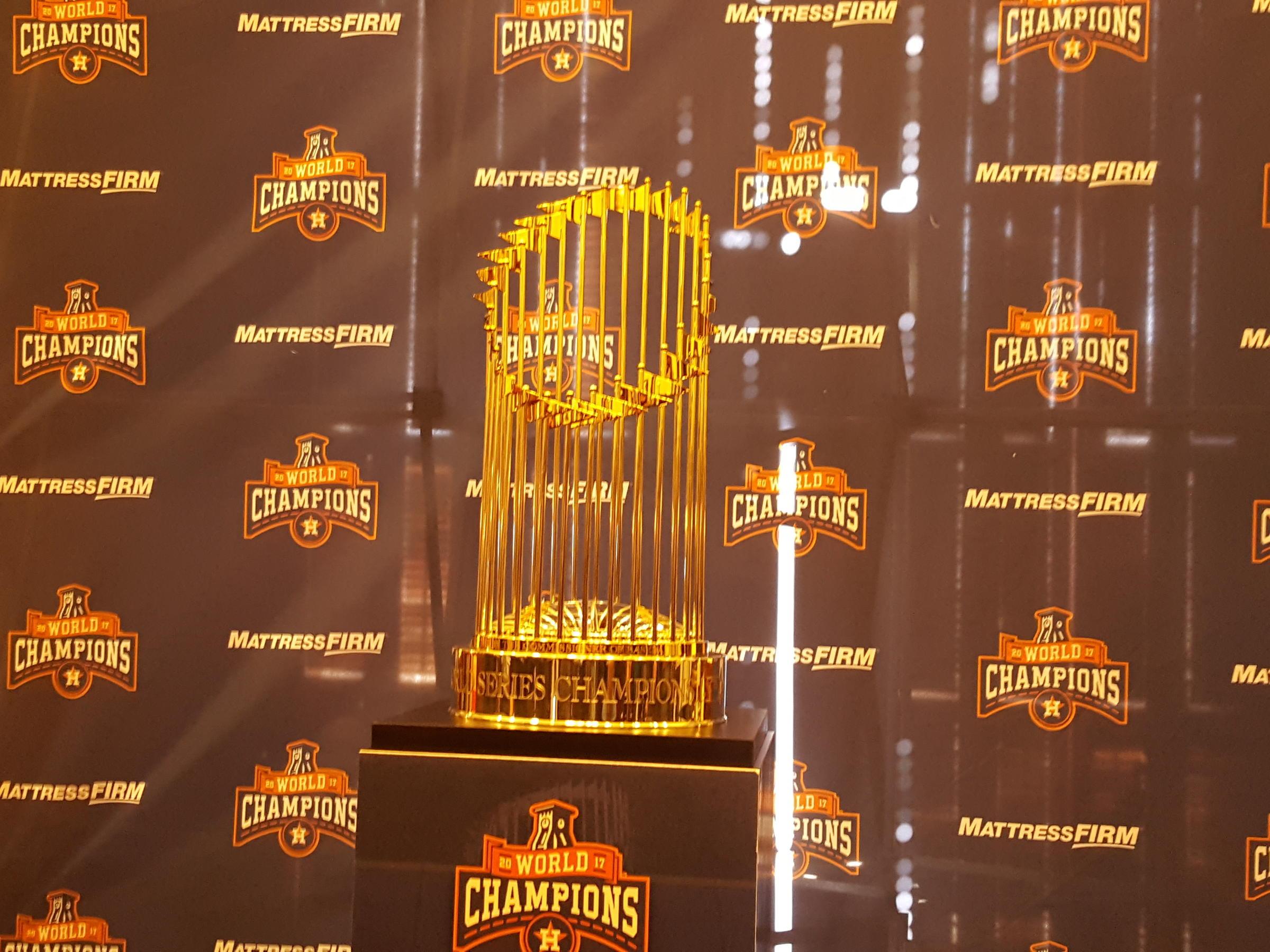 Houston Astros' 2017 World Series Trophy On Tour, Beginning