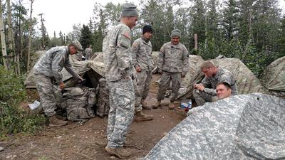 Logistical-support Soldiers Enabled Army to Hold Biggest Alaska