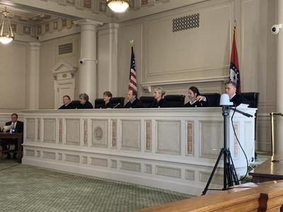 Arkansas Supreme Court Hears Death Row Inmate's Request For