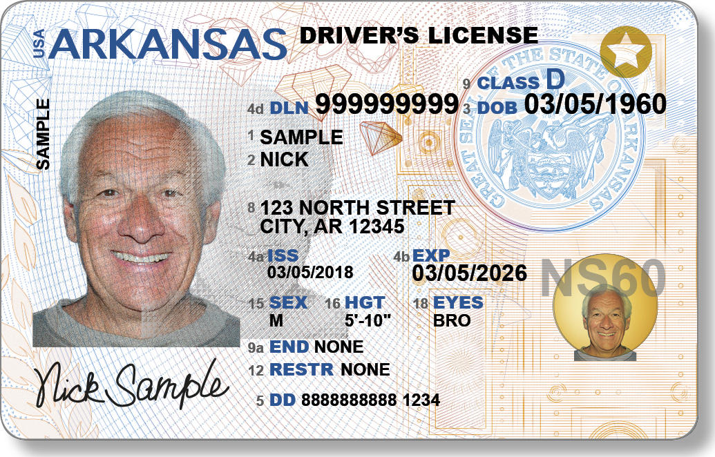 New Licenses Ids Arkansas For Driver's Unveils And Kuar Design