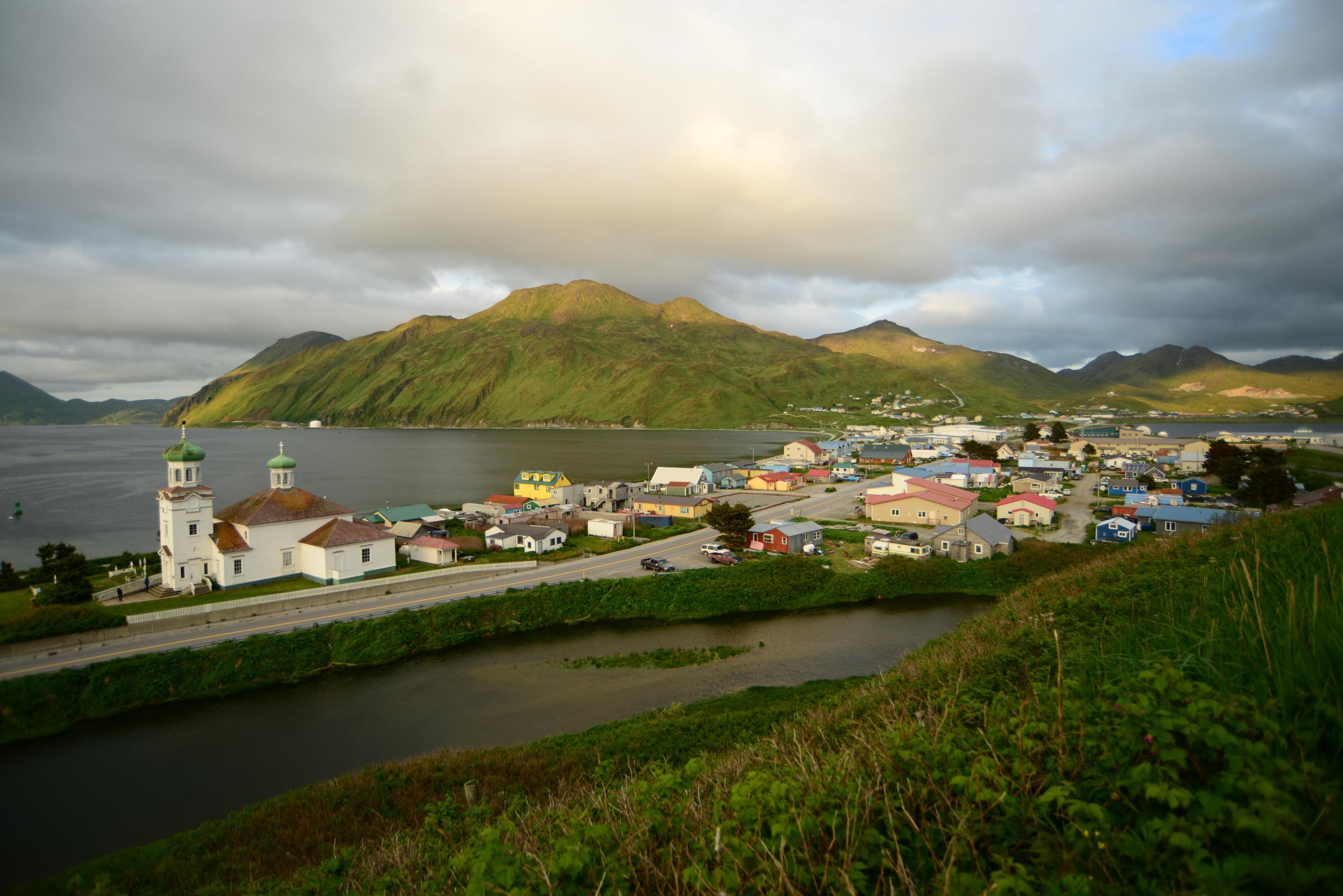 GCI Measures Unalaska Roads For Potential Fiber Project | KUCB