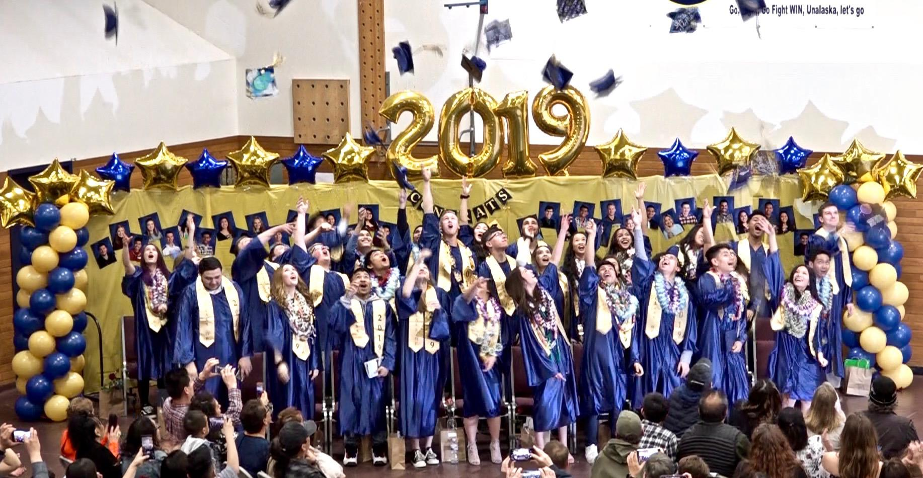 Ucsd Academic Calendar 2019.Unalaska Graduates Thirty Four Ucsd Students Kucb