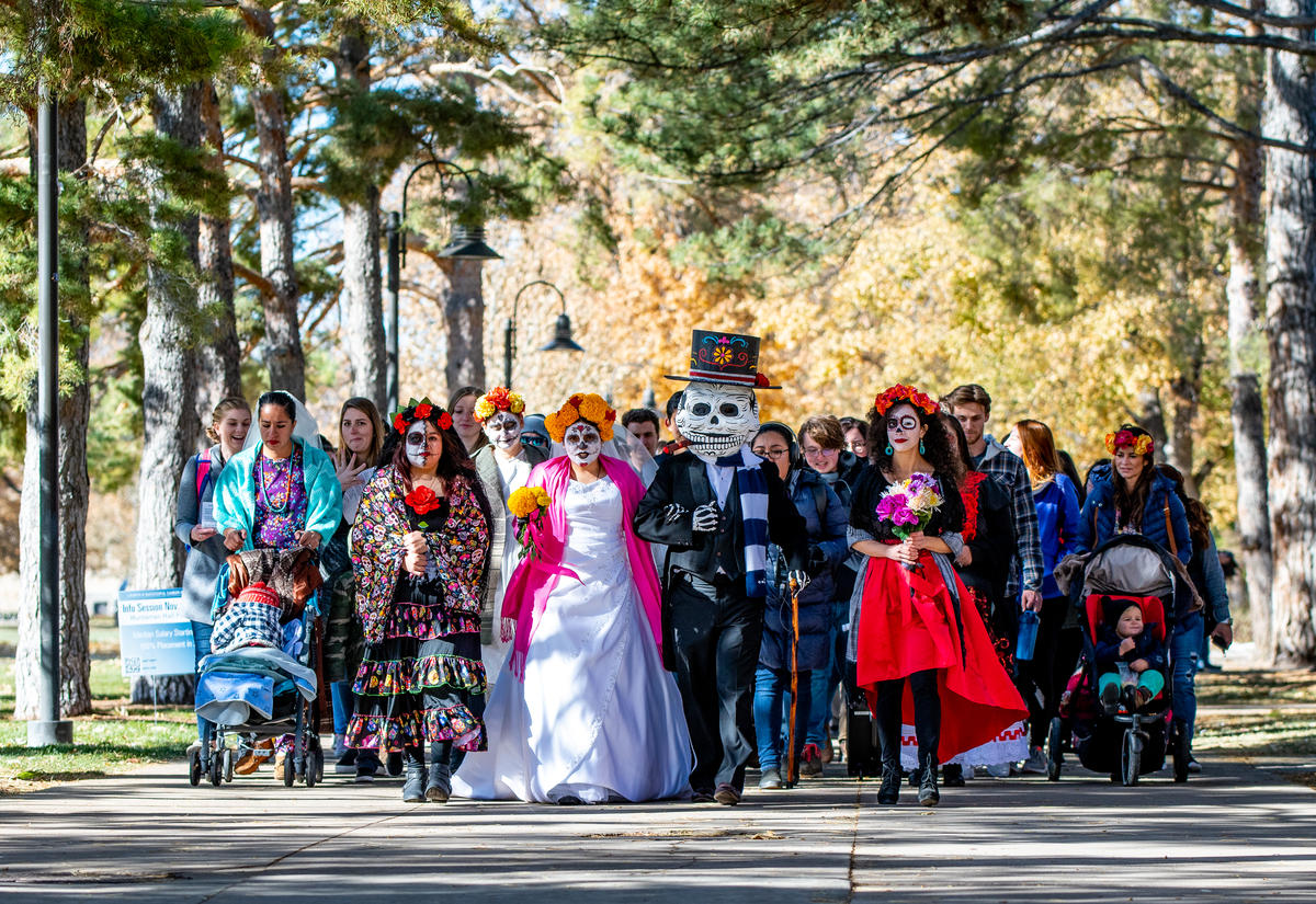 Cache Valley Latinos Show Community's Resiliency Through Day Of The Dead Event
