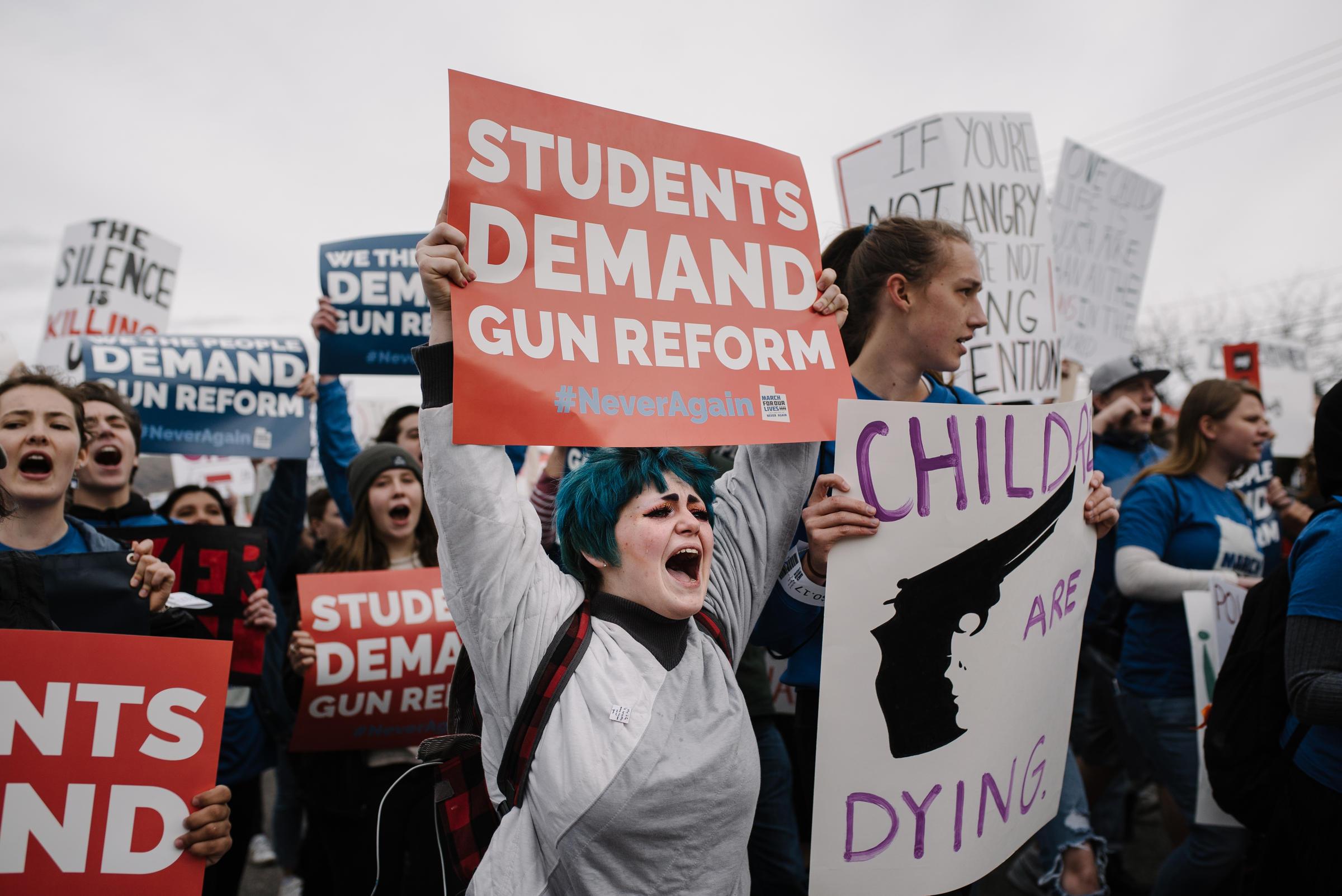 PHOTOS: Thousands Rally For Gun Control In Salt Lake City | KUER 90.1
