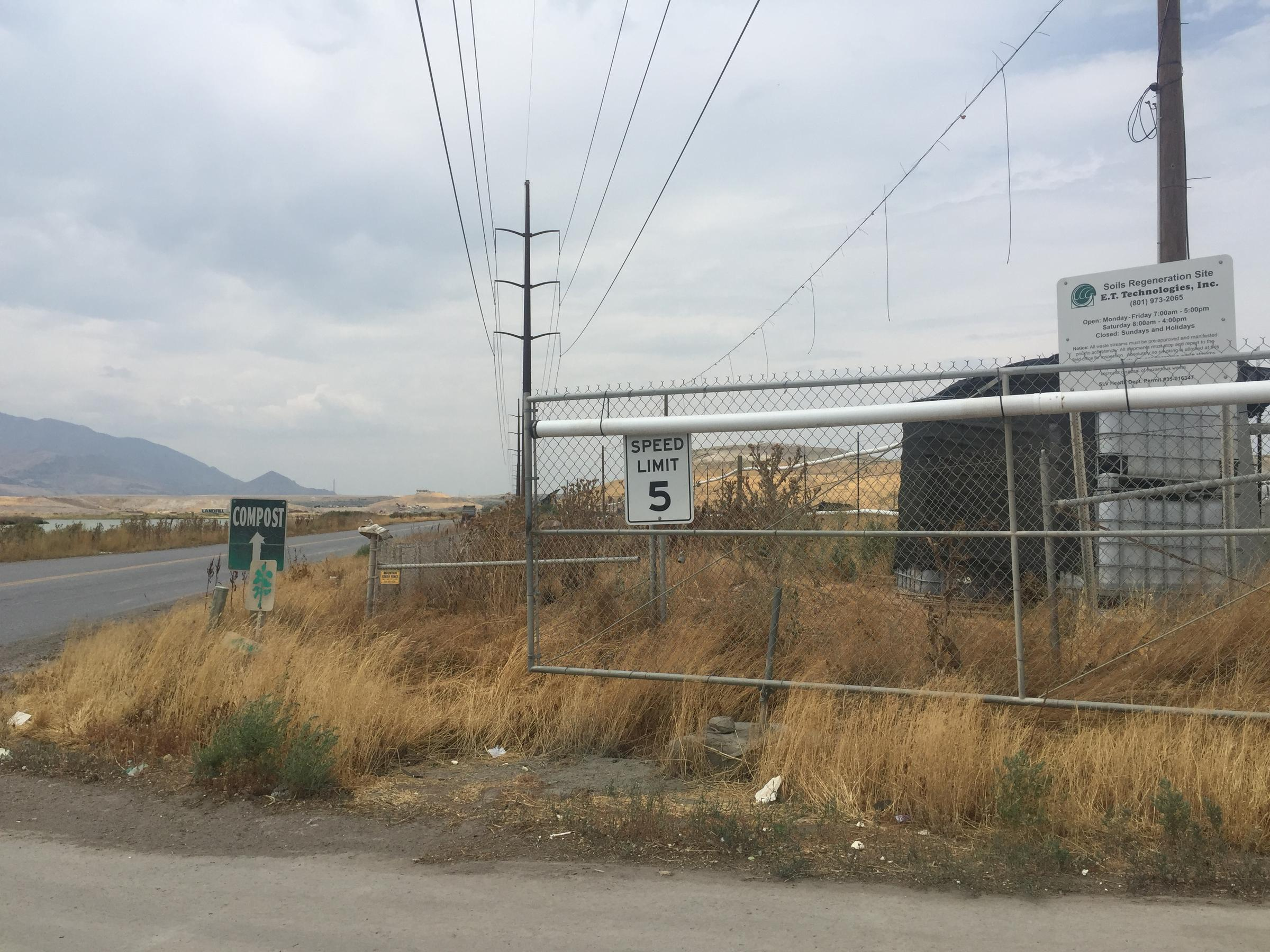 The Company E T Technology Has A Soils Regeneration Site Which West Valley City Residents Say Gives Off An Odor That Fills Air On Hot And Windy Days