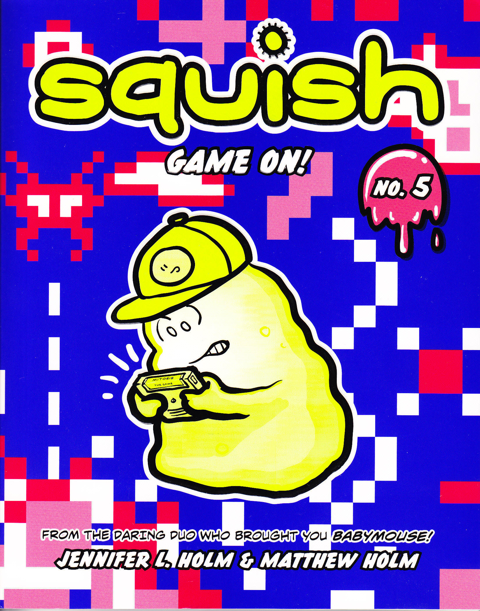 Children's Graphic Novel Book Review: 'Squish: Game On!' by