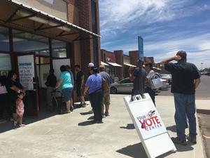 Democrats Turn Out For Crowded Primary Races In Albuquerque | KUNM