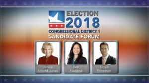 WATCH: Public Media's 1st Congressional District Candidate Forum | KUNM