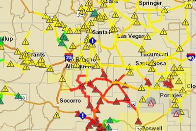 Headlines Severe Driving Conditions Se Nm Ceiling Collapse At Wipp Kunm Nmroads.com web site users can subscribe to receive important information by email and or text message about road. kunm