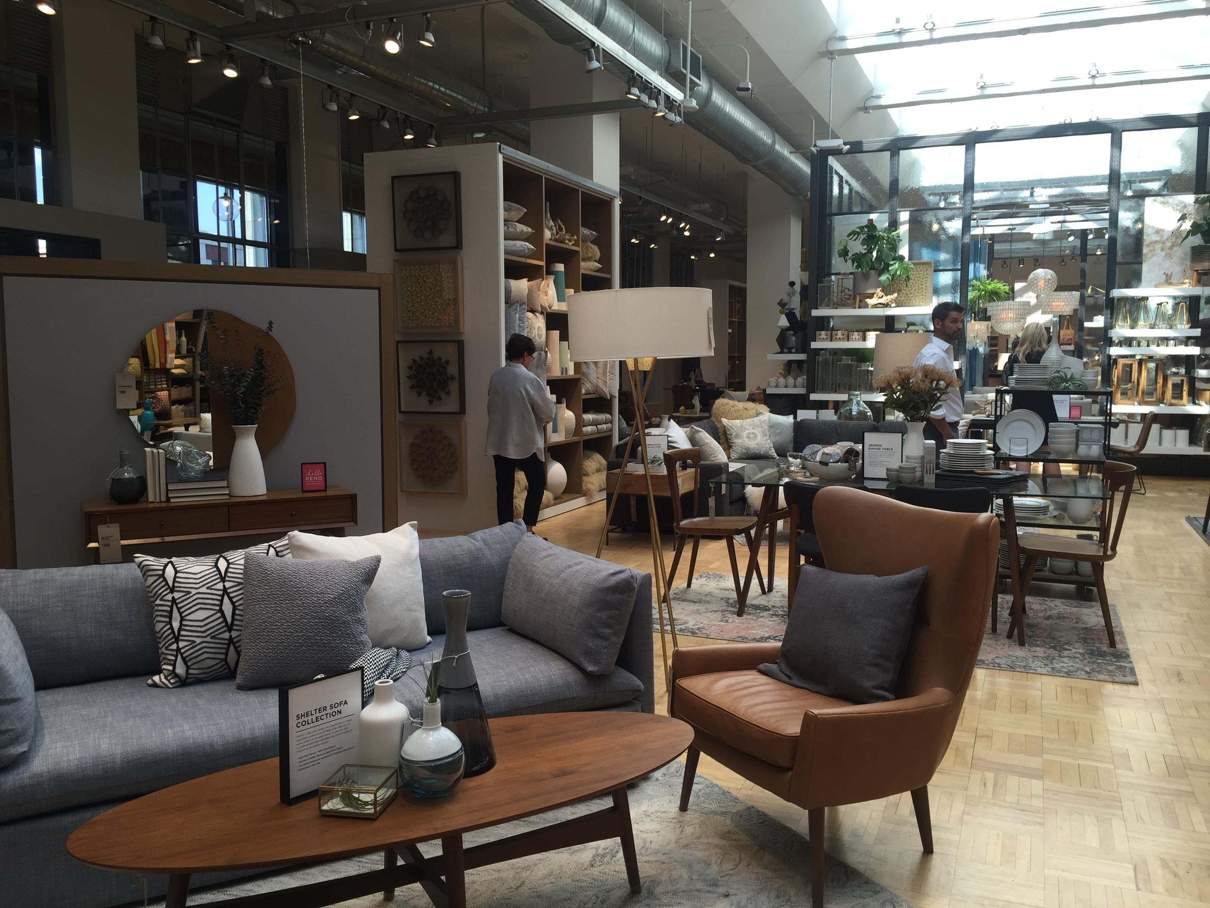 With Nod To The Past West Elm Opens Downtown