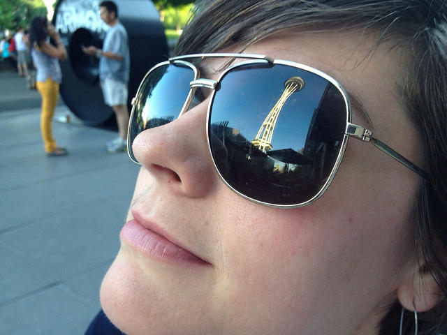 Seattle gets more clouds than blue sky, so do we really buy that many sunglasses?