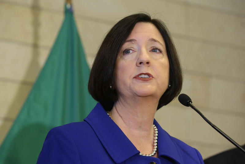 File Photo: Seattle Chief of Police Kathleen O'Toole