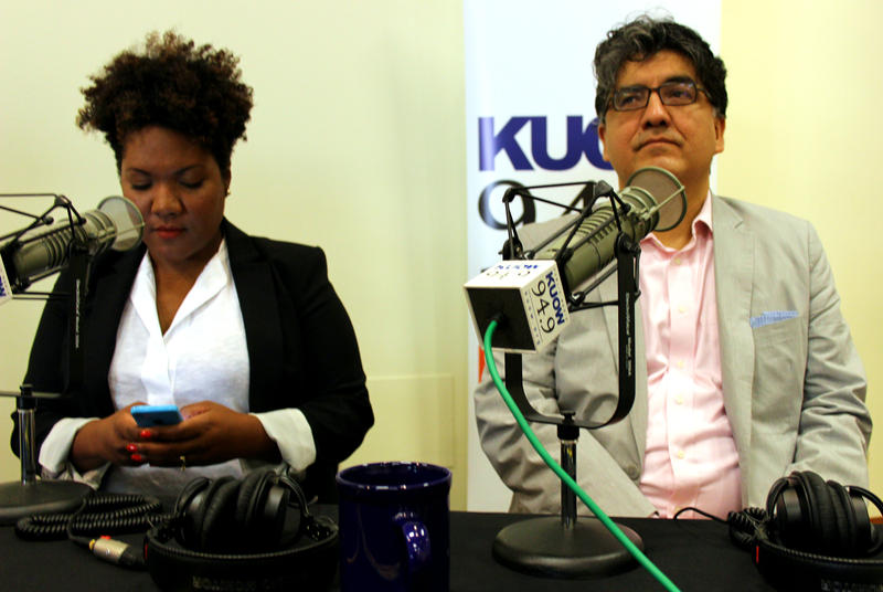 Tonya Mosley and Sherman Alexie, guests on KUOW's Week in Review show, live from Northwest African American Museum.