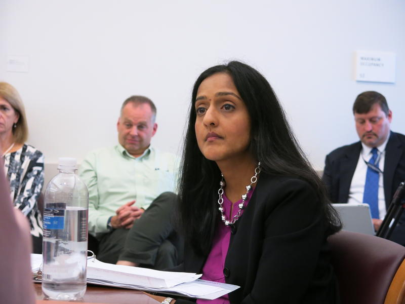 Assistant Attorney General Vanita Gupta hears from the Seattle Community Police Commission.