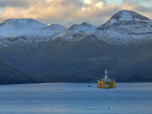 Shell's Oil Rigs Leave The Arctic -- And Will Skip Seattle