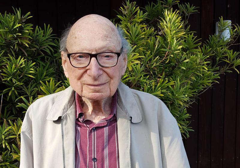 Franz W. Wasserman, 96, lives in Seattle. He was 12 when Hitler rose to power in Germany.
