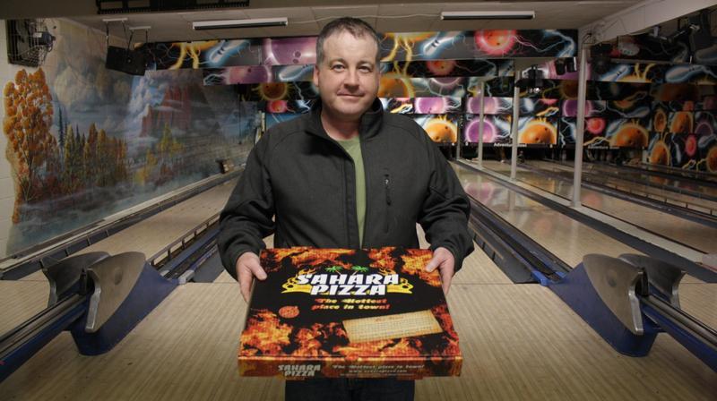 Harold Nesland III owns Sahara Pizza in Snoqualmie and Black Diamond.