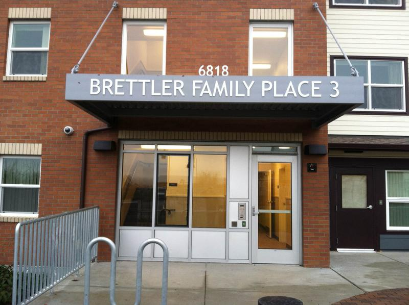 Brettler Family Place, part of the complex at Sand Point Housing.