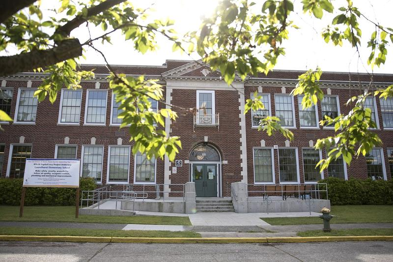 Laurelhurst Elementary in northeast Seattle.
