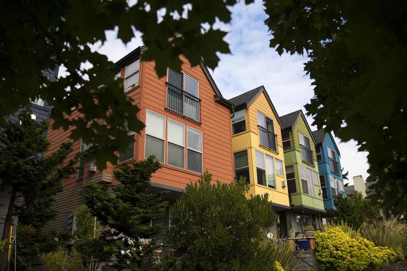 Townhomes in Seattle's Wallingford neighborhood