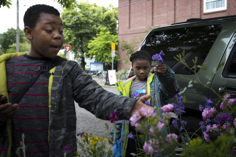 Matthew and Mariah Hicks attend Lowell Elementary School in Seattle's Capitol Hill neighborhood, where they are just two of the school's many homeless students.