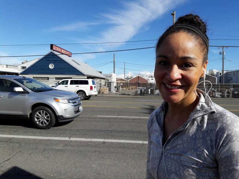 Cyanna DiRaimo runs for miles and miles. Sometimes, she runs along Aurora for a block or two (in order to cross), and imagines Aurora as an urban village.