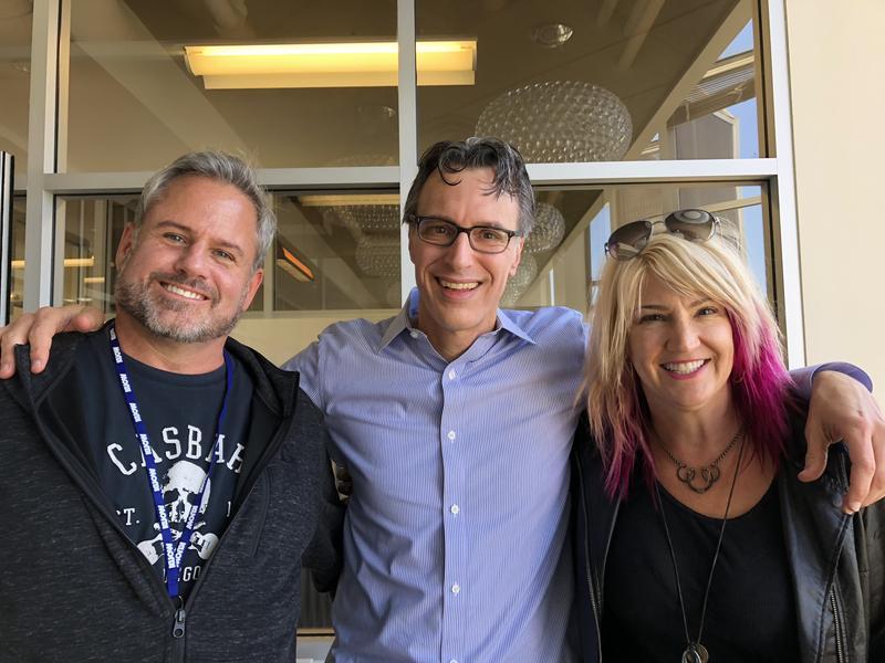 Marco Collins, Bill Radke and Karen Mason-Blair at KUOW