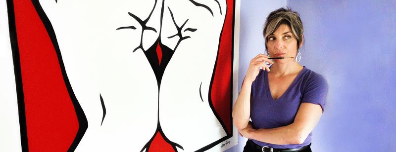 Cartoonist Ellen Forney.