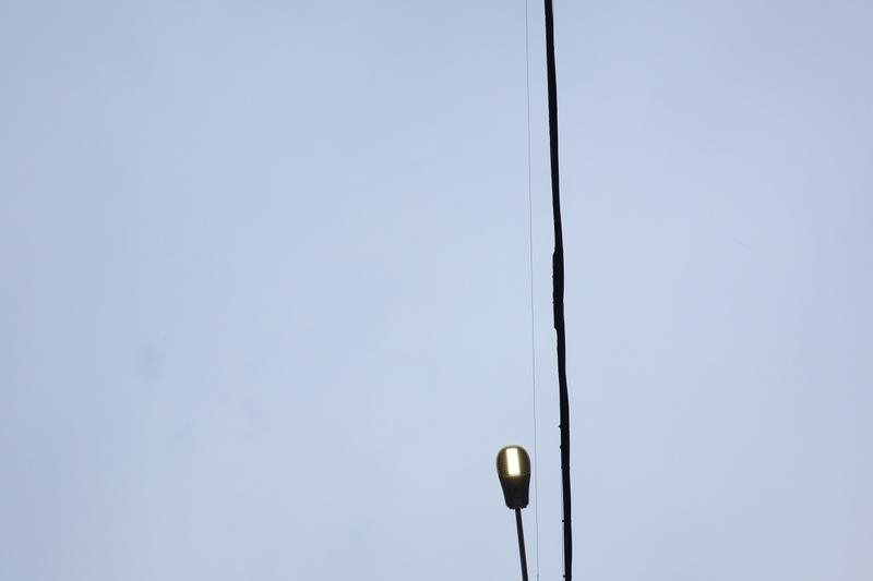 An LED street light in Seattle's Greenwood neighborhood.