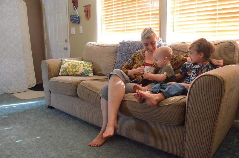 Anastazia Burnett lives with her children in Waterville, outside Wenatchee.