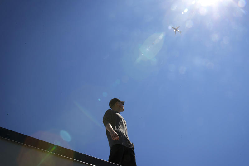 Nikk Wong lives on North Beacon Hill and wonders if a plane might one day crash on his house.
