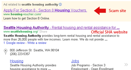 Scam Websites Target Applicants To Seattle's Low-Income Housing