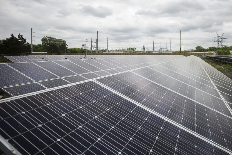 La Loma Community Solar Farm in East Austin holds enough solar panels to power 440 households.