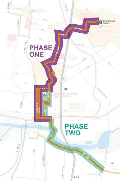 Austin Texas Subway Map.Austin Urban Rail In 7 Maps Kut