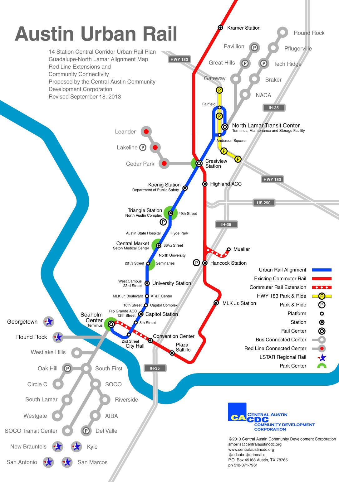 Austin Urban Rail in 7 Maps | KUT on