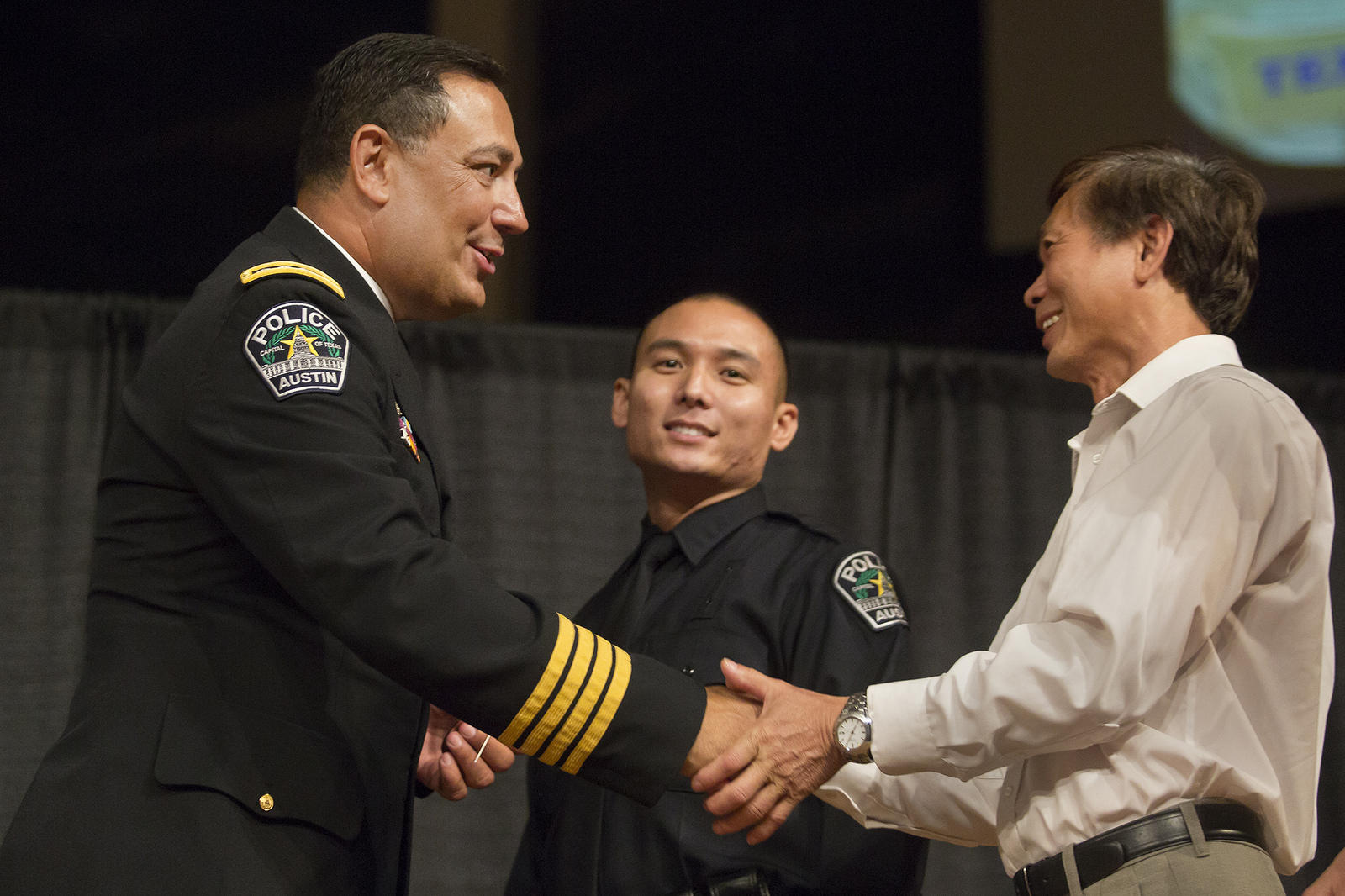 A Day After the Dallas Police Shootings, APD Graduates 37
